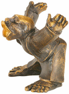 """Skulptur """"Küsschen von Ihm"""", Kunstguss"""