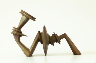 """Skulptur """"Der Ruf"""" (2005), Bronze"""