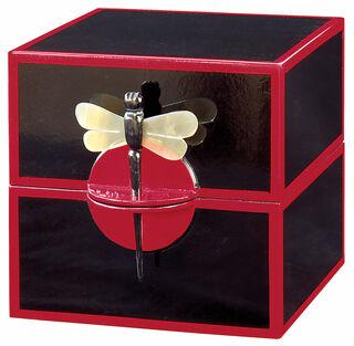 """Schatulle """"Dragon Fly"""", schwarz-rote Version"""
