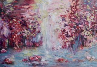 """Bild """"Sommer am Fluss XVI"""" (2020) (Unikat)"""