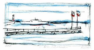 """Bild """"Am Strand"""" (2010), ungerahmt"""