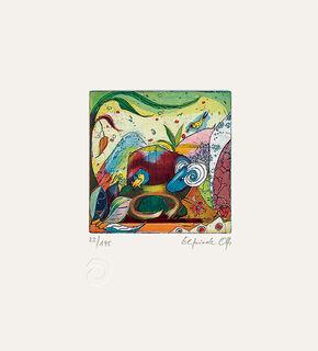 """Bild """"Sternzeichen Widder"""" (2001), ungerahmt"""