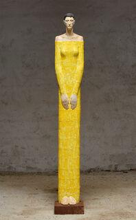 "Skulptur ""Innere Kraft"" (Original / Unikat), Holz"