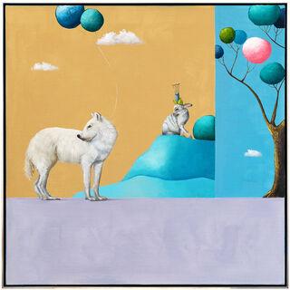 "Bild ""Serie: Fernweh   Das Mitbringsel II"" (2021) (Unikat)"