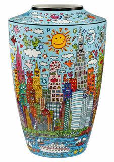 """Porzellanvase """"My New York City Day"""""""