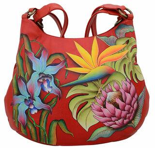 """Handtasche """"Exotic Flower"""" der Marke Anuschka®"""