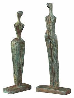 """Skulpturengruppe """"La Familia"""", Version in Bronze"""