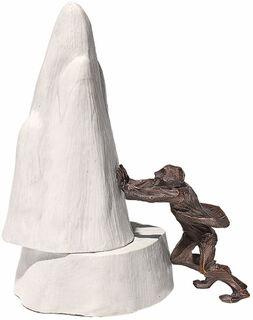 """Skulptur """"Ich kann Berge versetzen"""""""