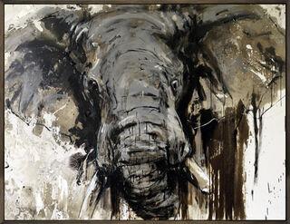 "Bild ""Elefant 109"" (2020) (Unikat)"