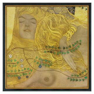 """Bild """"Wasserschlangen I"""" (1904-07), gerahmt"""