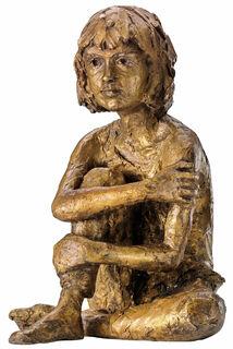 "Skulptur ""Martha"", Bronze"