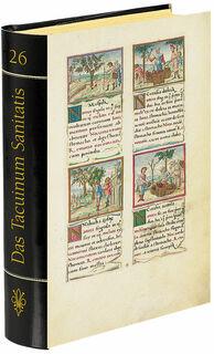 """Buch-Reprint """"Das Tacuinum Sanitatis"""""""