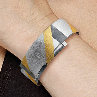 """Armreif """"Black and Gold"""""""