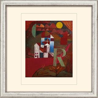 "Bild ""Villa R."" (1919), gerahmt"