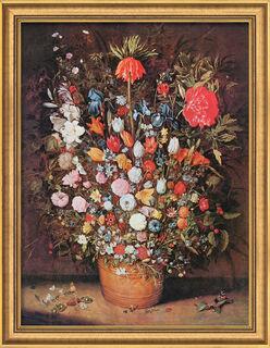"""Bild """"Blumenstrauß"""" (um 1607), gerahmt"""