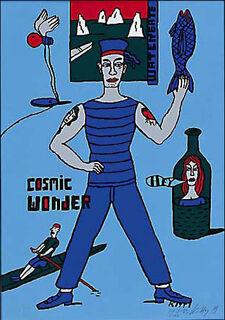 """Bild """"Cosmic Wonder"""" (2002), ungerahmt"""