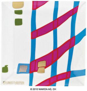 """Gabenschale """"Detail of Infinity"""" (19 x 19 cm, weiß)"""