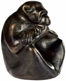 "Skulptur ""Affe"", Bronze"
