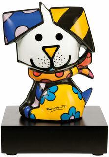 "Porzellanskulptur ""Hund Coco"""