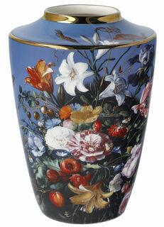 """Minivase """"Sommerblumen"""", Porzellan mit Golddekor"""