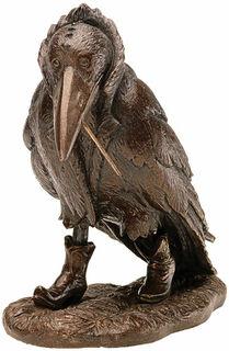 """Skulptur """"Rabe"""" - nach Rudi Hurzlmeier, Version in Kunstbronze"""