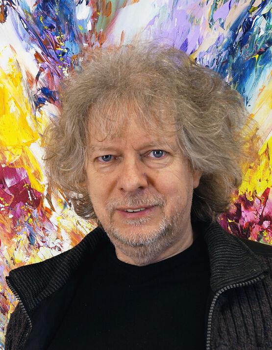 Porträt des deutschen Malers Peter Nottrott