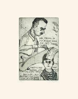 """Bild """"Wir finden in den Büchern immer nur uns selbst... (2012) - nach Thomas Mann, ungerahmt"""