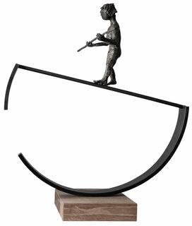 "Skulptur ""Balance"", Bronze"