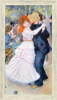 """Bild """"Tanz im Bougival"""" (1883), gerahmt"""