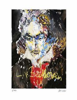 "Bild ""Ludwig van Beethoven"" (2020), ungerahmt"