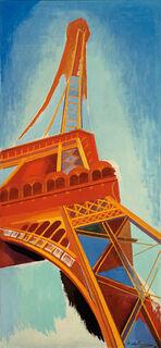 "Bild ""Der rote Turm"" (1928)"