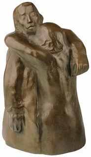 """Skulptur """"Abschied"""" (1940/41), Bronze"""