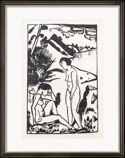 "Bild ""Am Strand"" (1923)"