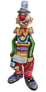 """Skulptur """"Clown Udino"""", Kunstguss"""