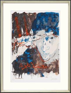 "Bild ""Bob Dylan"" (2016), gerahmt"