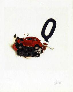 """Bild """"La lettera Q"""", ungerahmt"""