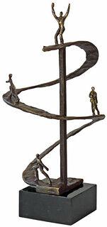 "Skulptur ""Erfolgsspirale"""