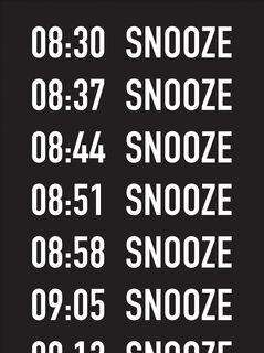 "Bild ""Snooze"" (2016)"
