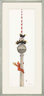 "Bild ""Berlin"" (2018), gerahmt"
