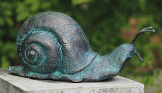 """Gartenskulptur """"Weinbergschnecke"""", Bronze"""