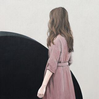 """Bild """"Schwarzer Punkt"""" (2020) (Unikat)"""