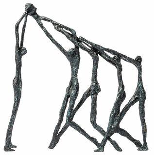 """Skulptur """"Striving"""", Bronze"""