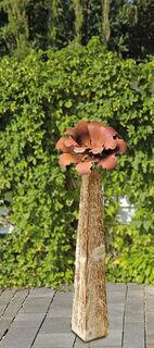 """Gartenstele """"Kamelienblüte"""" (klein, Höhe 77 cm)"""