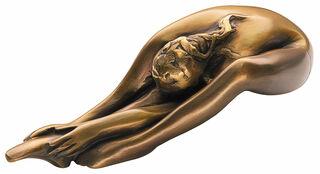 "Skulptur ""Donna che si veste"", Bronze"