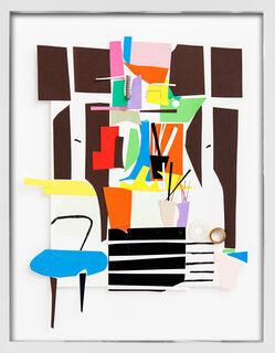 "Bild ""Atelier, Planschrank, Fenster"" (2015) (Unikat)"