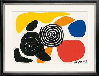 "Bild ""Spirals and Petals"" (1969), gerahmt"
