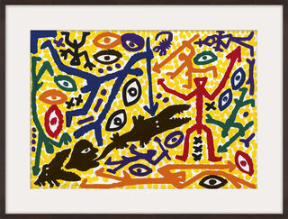 """Bild """"Jagd"""" (1991)"""