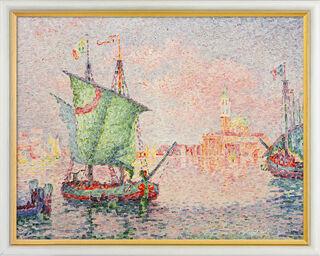"""Bild """"Venedig, die rosa Wolke"""" (1909), gerahmt"""