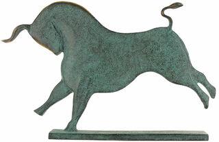 """Tierplastik """"Stier"""", Bronze"""
