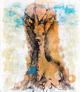 """Bild """"Lichtung"""" (2013) (Unikat)"""